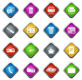 Office and Business Icons set Stock Photo