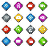 Office and Business Icons set Stock Images