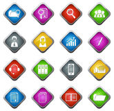 Office and Business Icons set Royalty Free Stock Photography