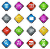 Office and Business Icons set Royalty Free Stock Image