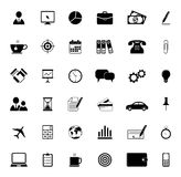 Office and Business Icons. Vector illustration Royalty Free Stock Photography