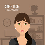 Office and business people Stock Photography