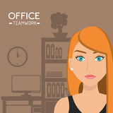 Office and business people Stock Images