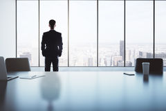 Office with businessman Royalty Free Stock Photos