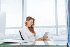 At office Royalty Free Stock Photo