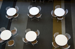 Office cafe furniture Stock Image