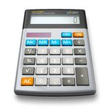 Office calculator Royalty Free Stock Photography