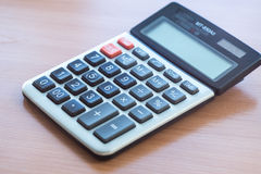 Office Calculator Close Up Stock Photography
