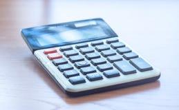 Office Calculator Close Up Stock Image