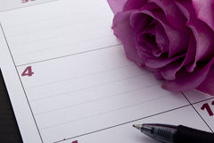 Office calendar planner Royalty Free Stock Image