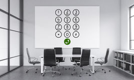 Office, call center Royalty Free Stock Photo