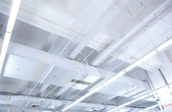 Office Ceiling. In a building Royalty Free Stock Photography