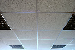 Office ceiling Royalty Free Stock Image