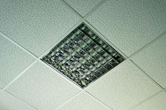 Office ceiling light Stock Photo