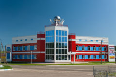 Office Center Ariada in Volzhsk town. Office Center Ariada in the center of Volzhsk town Royalty Free Stock Photo