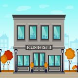 Office Center Building Royalty Free Stock Photo