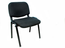 Office Chair. A single black office chair Royalty Free Stock Image