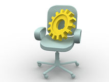 Office chair. Royalty Free Stock Photos