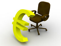Office chair. Stock Image