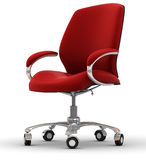 Office chair. On white back Stock Photography
