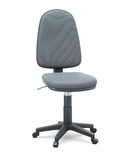 Office chair without armrests on a white background. 3d illustration Royalty Free Stock Photography