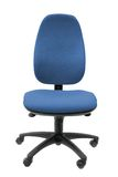 Office Chair in Blue Stock Photography