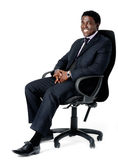 Office chair businessman Stock Photo