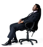 Office chair businessman Royalty Free Stock Images