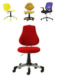 Office Chair Collection Stock Image