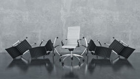 Office chair concept Stock Photo
