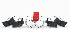 Office chair concept Royalty Free Stock Photos