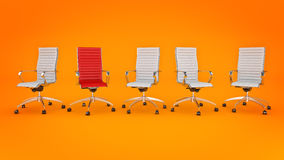 Office chair concept Stock Photography