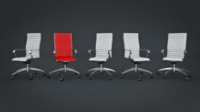 Office chair concept Stock Photos