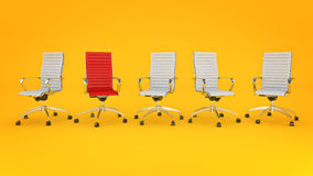 Office chair concept Stock Image