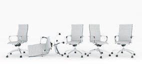 Office chair concept Stock Images