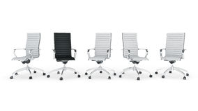 Office chair concept Royalty Free Stock Photography