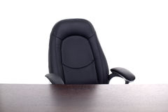 Office chair and desk Stock Images