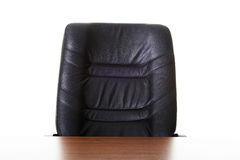 Office chair and desk Royalty Free Stock Photography