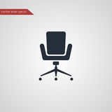 Office chair icon simple illustration Royalty Free Stock Images