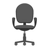 Office chair icon vector Stock Photography