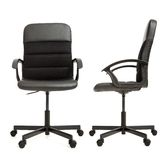 Office chair isolated on the white  Stock Images