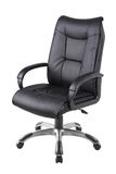 Office chair isolated on white. Background royalty free stock photography