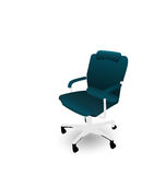 Office Chair Isolated on White Background Royalty Free Stock Image