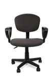 Office Chair Over White royalty free stock image