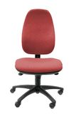 Office Chair in Red Stock Photo