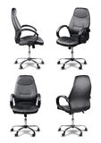 Office chair set isolated Royalty Free Stock Photos