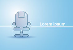 Office Chair Silhouette Empty Seat Furniture Isolated Royalty Free Stock Photo