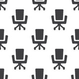 Office chair, vector seamless pattern Royalty Free Stock Photography