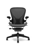 Office chair. On white background Royalty Free Stock Photo