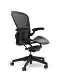 Office chair. On white background Royalty Free Stock Photos